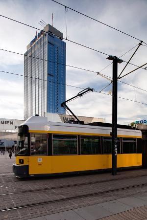 Urban City Scene in Berlin, Germany
