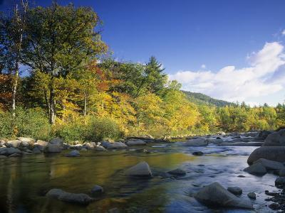 Swift River in the Autumn, White Mountains National Forest, New Hampshire, USA
