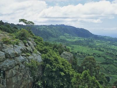 Elgeyo Escarpment and the Rift Valley, Near Kabarnet, Kenya