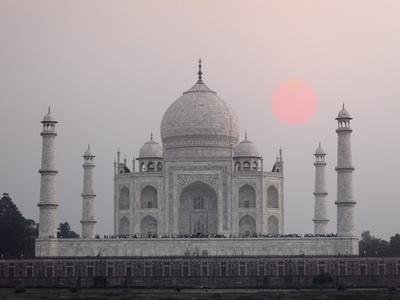Taj Mahal at Sunset, Agra, India