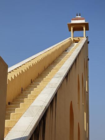 Jantar Mantar in Jaipur, One of Six Major Observatories Built by Maharajah, India