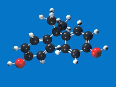 Bisphenol a Molecular Model