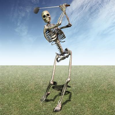 Skeleton Golfing