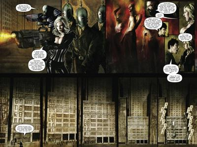 Zombies vs. Robots - Comic Page with Panels