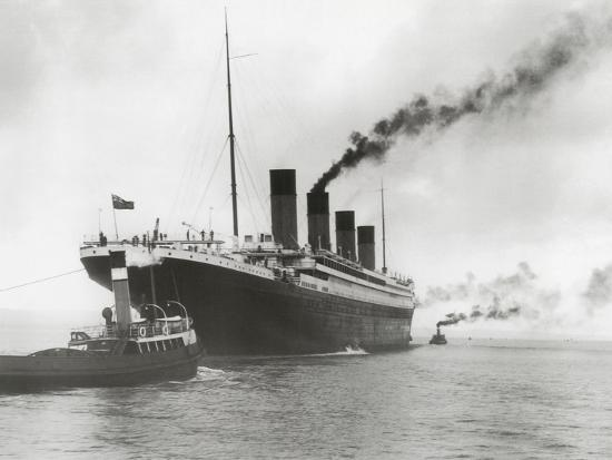 'RMS Titanic Ready for Her Maiden Voyage, 04/02/1912 ...