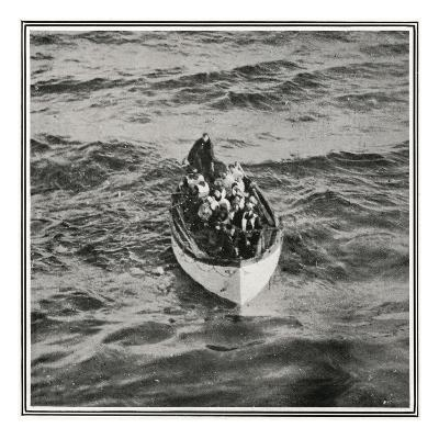 How the Titanic Survivors Were Picked Up by the Carpathia.