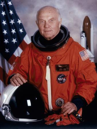 John H Glenn, American Astronaut, May 1998