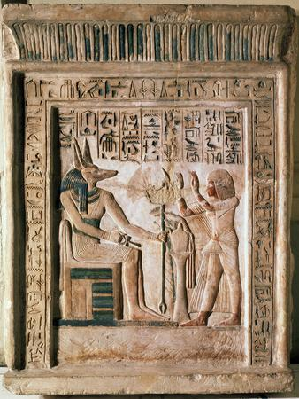 Stele of the Royal Scribe Ipi, Middle of the 14th Century Bc