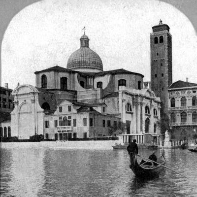 The Church of St Jeremiah, Venice, Italy, Late 19th Century