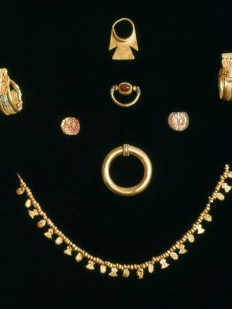 Punic Jewels, C3rd-4th Century