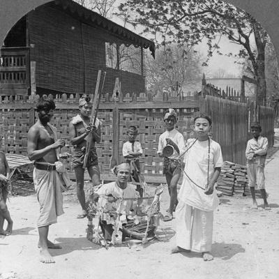 Scene During a Festival, Burma, 1908