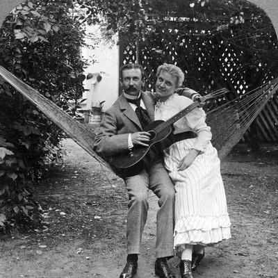 The Musical Pair in the Hammock