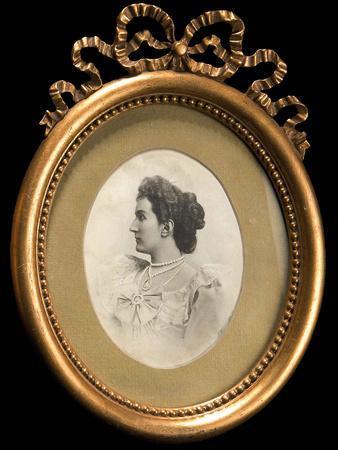 Portrait of Grand Duchess Militza Nikolaevna of Russia (1866-195)