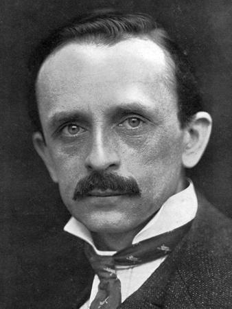 Sir James Matthew Barrie, Scottish Novelist and Dramatist, 1910