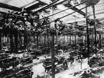 The Austin Car Factory at Longbridge, Birmingham, 1913