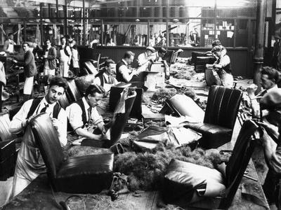Upholstery Department, Morris Factory, Mid 1920S