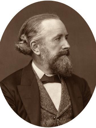 Professor Edward Frankland, 1880