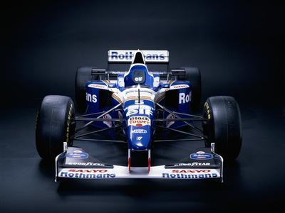 A 1996 Williams-Renault FW18