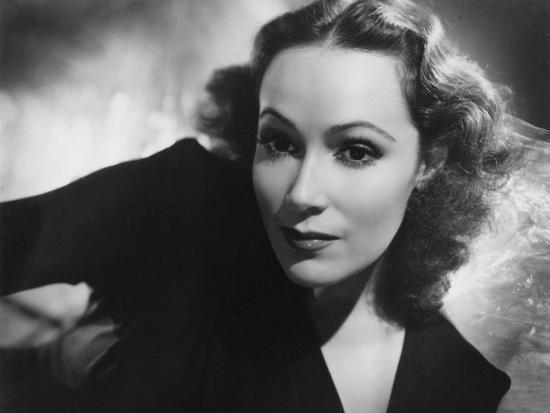 Dolores Del Rio Mexican Actress And Film Star Late 1930s Early