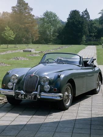 A 1960 Jaguar XK150