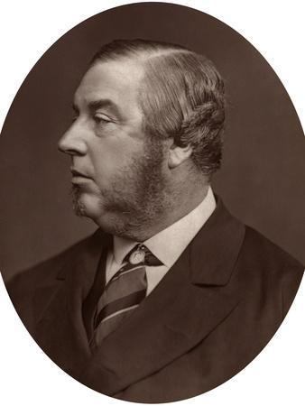 George Sclater-Booth Mp, President of Local Government Board, 1878