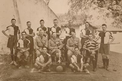 The Young Soldiers Football Team of the First Battalion