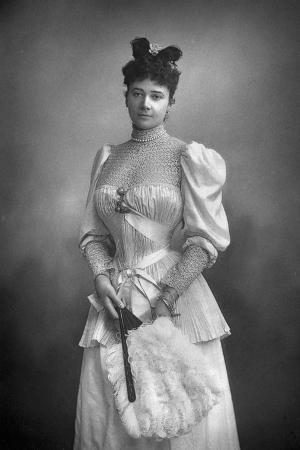 Gertrude Elizabeth Blood, Lady Colin Campbell (1857-191), Journalist and Socialite, 1893
