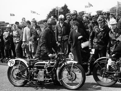 1926 Douglas Motorbike, Douglas, Isle of Man, 1961