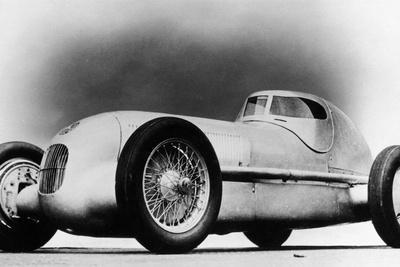 Mercedes-Benz W25 Streamliner Car, 1934