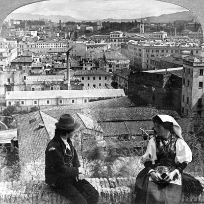 Aventine Hill and the Alban Hills, Rome, Italy