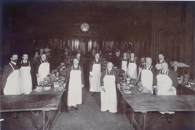 The Lord Mayor's Dinner at Guildhall, London, C1900