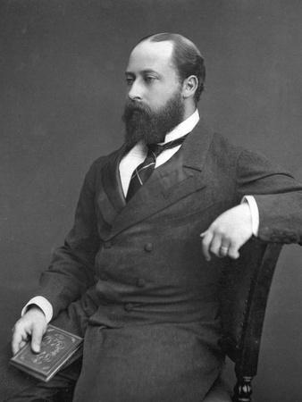 Edward VII (Then Prince of Wale), 1876