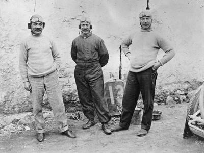 Humber Drivers, 1914