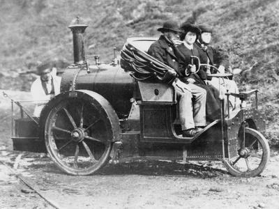Rickett's Steam Carriage, 1860