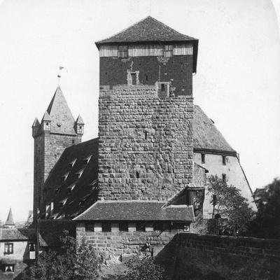 The Quintagonal Tower (Funfeckiger Thur), Kaiserstallung, Nuremberg, Germany, C1900s