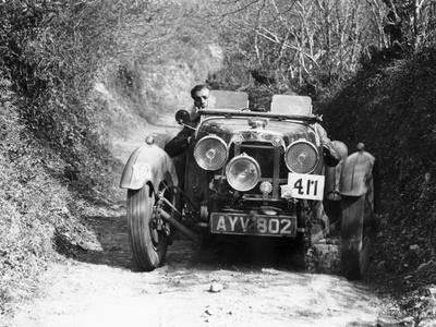 1934 Aston Martin Le Mans, Possibly a MK II, (1934)