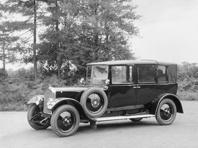 Lanchester Landaulet, C1927-C1928