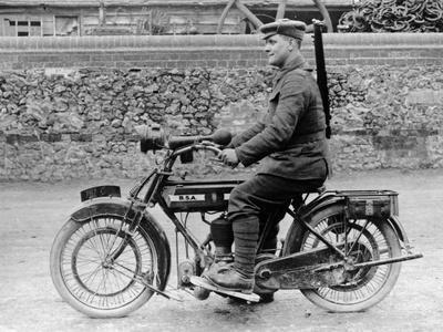 1918 500Cc Bsa Wd Motorcycle, (C1918)