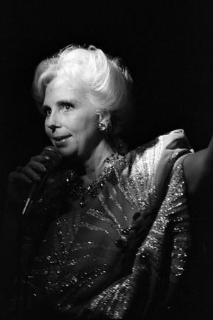 Marion Montgomery, Ronnie Scotts, Soho, London, 1987
