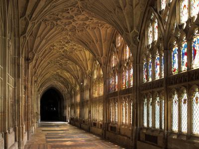 Cloisters of Gloucester Cathedral, Late 14th Century