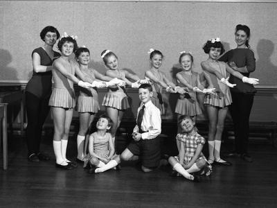 Wombwell Operatic Society, South Yorkshire, 1961