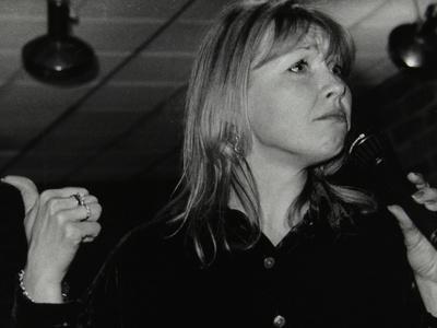 Vocalist Tina May at the Fairway, Welwyn Garden City, Hertfordshire, 7 March 1999