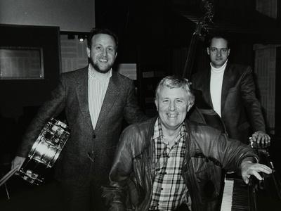 Bobby Worth, Brian Dee and Mario Castronari at Lansdowne Studios, Holland