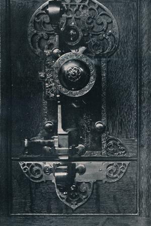 Oliver Cromwells Portable Steel Lock, C17th Century, (1904)