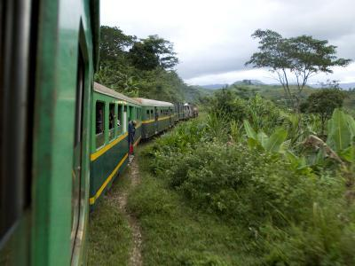 Train Travelling Betwen Manakara and Fianarantsoa, Madagascar