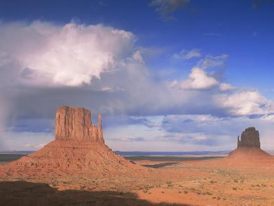 Rain Cloud Over Monument Valley, Utah, USA