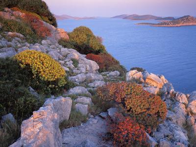 View from Mana Island South Along the Islands of Kornati National Park, Croatia, May 2009