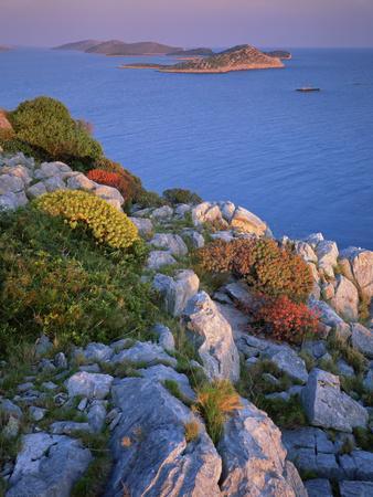 Coastal Landscape, Kornati National Park, Mana Island, Croatia, May 2009 Wwe Book