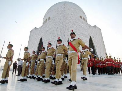 A Contingent of the Cadets of Pakistan Army