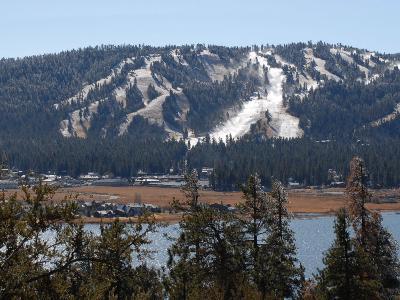 Snow Summit Ski Area in Big Bear Lake, California, Struggles to Make Artificial Snow